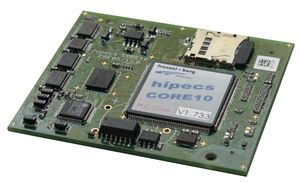 frenzel + berg hipces CORE10 embedded PLC Core Modul with CANopen master and ethernet.